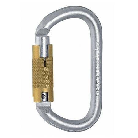 Oval Steel Triple Lock
